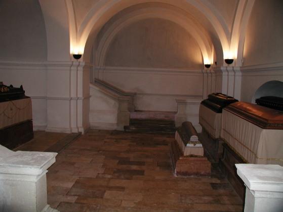 Batthyány-mauzóleum, belül