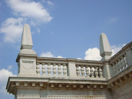 Batthyány-mauzóleum, obeliszk
