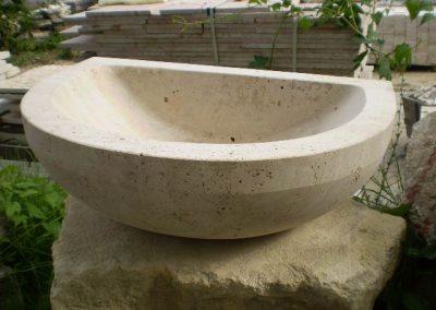 Mészkő mosdó