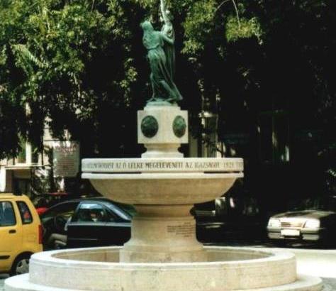 Bp, Igazság szobor - felújítás után