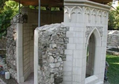Margitsziget, kútház-, kút rekonstrukció