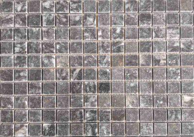 Dark Blue Marble 2,3x2,3cm