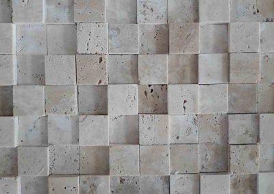 Travertin cubic 2,3x2,3cm